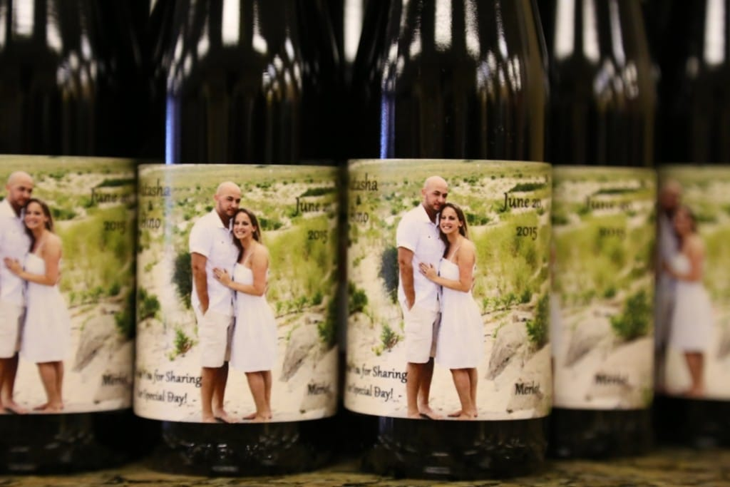 Custom Label Juice Favors Great Non Alcohol Wedding Favorsyour Own