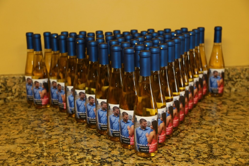 Custom Wine Favors By Your Own Winery